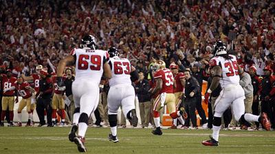 Falcons 49ers Football