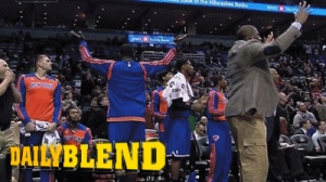 Andrea Bargnani's Knicks Teammates Freak Out After He Inexplicably Shoots Near End of Overtime (GIF)