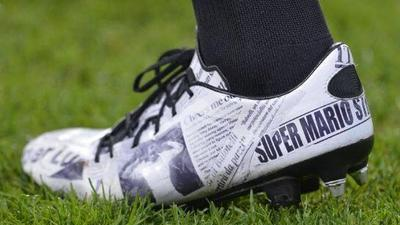 Mario Balotelli Newspaper Boots