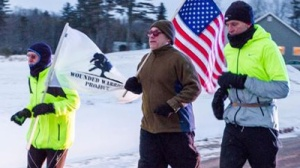 Man Running From Maine To Super Bowl To Benefit Wounded Warriors