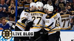Bruins-Sabres Live: Niklas Svedberg Earns First NHL Shutout In 4-0 Boston Win