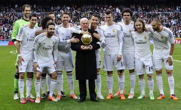 Cristiano Ronaldo, Agustin Herrerin, Real Madrid and Ballon d'Or