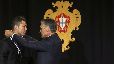 Cristiano Ronaldo, Anibal Cavaco Silva