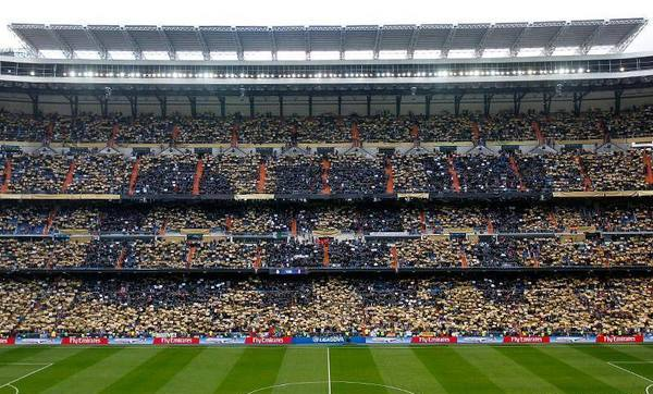 Cristiano Ronaldo CR7 Ballon d'Or Mosaic at Santiago Bernabeu
