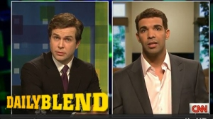 Drake Nails Impression Of Alex Rodriguez On Saturday Night Live (Video)