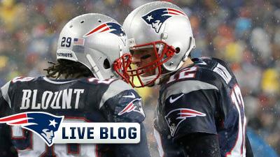 LeGarrett Blount, Tom Brady