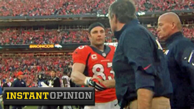 Bill Belichick Only Cranky About Wes Welker's Hit On Aqib Talib Because It Didn't Go His Way