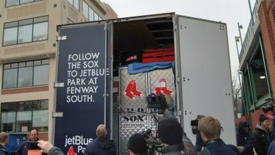 Boston Red Sox Truck Day