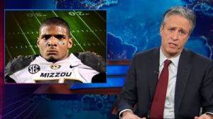 Jon Stewart Rips NFL Players, Front Offices Who See Michael Sam As 'Distraction' (Video)