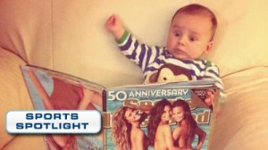 Baby Can't Even Handle Sports Illustrated Swimsuit Issue (Photo)