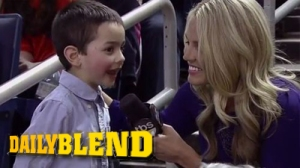 Phil Martelli's Grandson Gives Adorable Interview With Allie LaForce (Video)