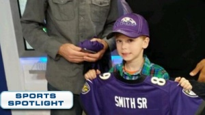 Steve Smith Surprises 7-Year-Old Crying Panthers Fan On Morning Show (Video)