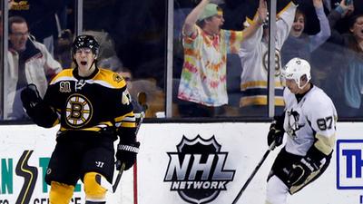 Torey Krug, Sidney Crosby