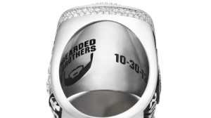 Red Sox World Series Rings Inscribed With 'Bearded Brothers' Image (Photo)