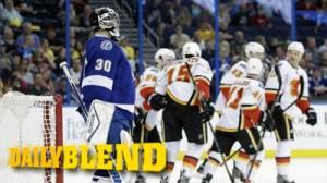 Ben Bishop's Blunders Result In Two Flames Goals In 15 Seconds (Video)