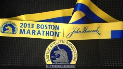 Boston Marathon 2013 medal