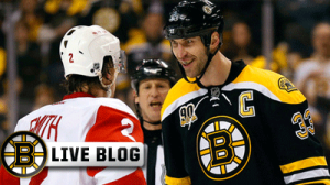 Bruins-Red Wings Live: Boston Scores Three First-Period Goals, Wins 5-2