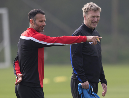 Britain Soccer Man United Moyes