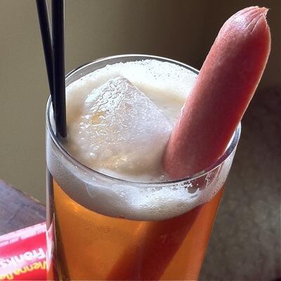 hot dog cocktail