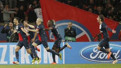 Javier Pastore PSG vs Chelsea Champions League