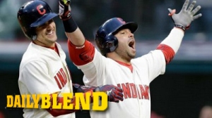 Indians' Nick Swisher Does Ohio State Cheer After Two-Run Homer (Video)