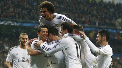 Real Madrid Borussia Dortmund Champions League