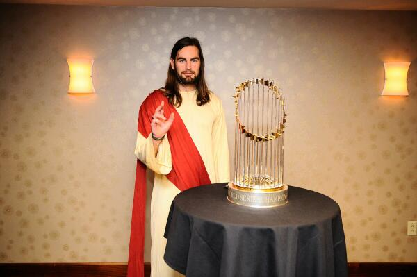 Red Sox Jesus Thor