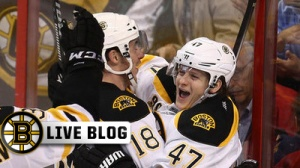 Bruins-Coyotes Live: Brad Marchand Scores Twice, Boston Wins 5-2