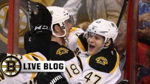 Bruins-Coyotes Live: Brad Marchand Scores Twice, Boston Wins 5-2