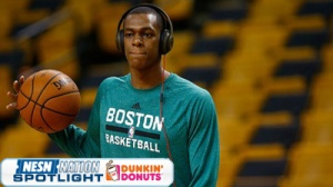 Rajon Rondo Receives Warning From NBA For Embarrassing Flop (Video)