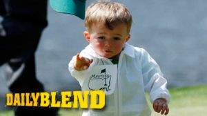 Scott Stallings' Adorable Son Steals Show At Masters Par 3 Contest (Photos)