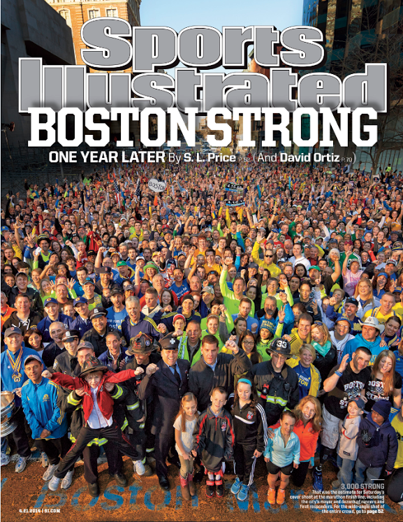 Sports illustrated Boston Strong