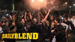 UConn Students Riot, Flip Cars After Basketball Team Wins NCAA Title (Photos)