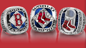 Red Sox Raffle Gives Fans A Chance To Win Three World Series Rings