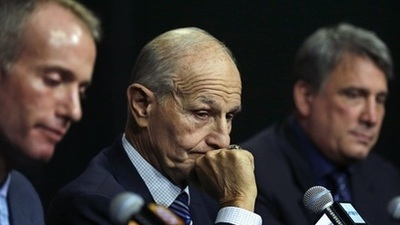 Jeremy Jacobs, Charlie Jacobs, Cam Neely