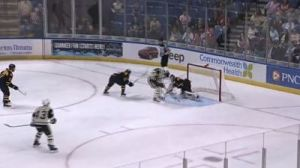 Brian Gibbons' Amazing Game 7 Goal Helps End P-Bruins' Season (Video)