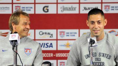 Jurgen Klinsmann and Clint Dempsey