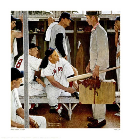 Norman Rockwell The Rookie