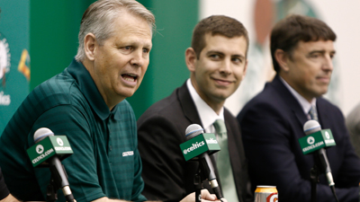 NBA: Boston Celtics-Brad Stevens-Press Conference