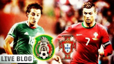 Andres Guardado and Cristiano Ronaldo