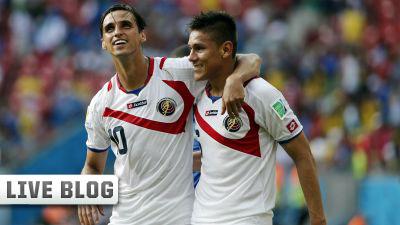Bryan+Ruiz+and+Oscar+Duarte