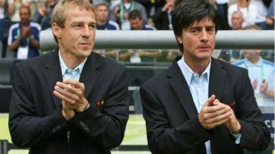 Jurgen Klinsmann and Joachim Low