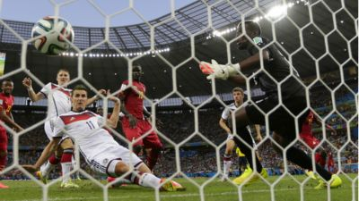 Miroslav Klose Germany Ghana World Cup 2014
