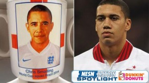 President Obama Mistaken For England Soccer Player On World Cup Mug