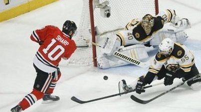 Stanley Cup Bruins Blackhawks Hockey
