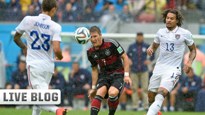 USA - Germany 2014 World Cup