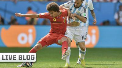 Axel Witsel and Javier Mascherano Argentina Belgium 2014 World Cup_1