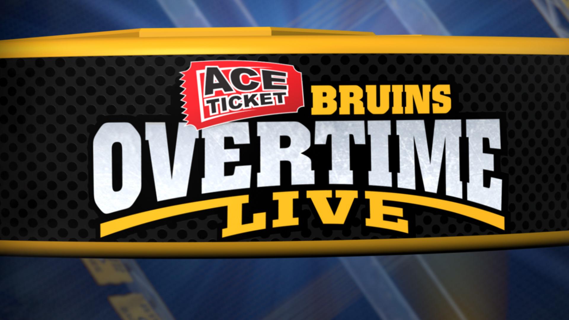 ACE Ticket Bruins Overtime Live