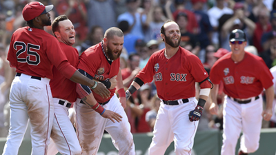 MLB: Baltimore Orioles at Boston Red Sox-Game 1