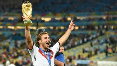 Mario Gotze Germany Argentina 2014 World Cup